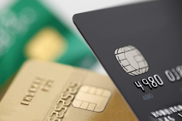 クレジットカード数枚を比較するイメージ