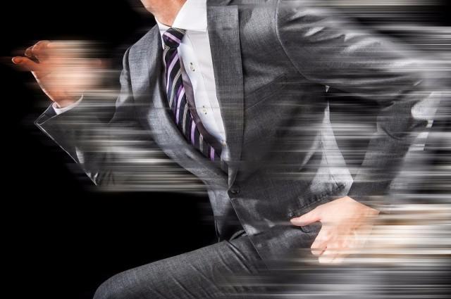 融資スピードを表すイメージ