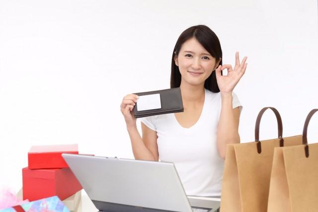 買い物と女性