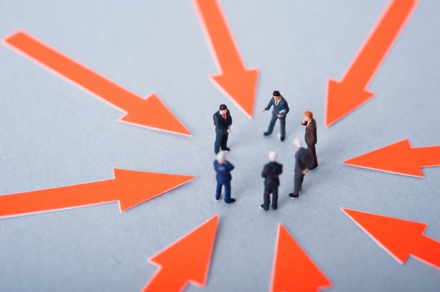 営業ネットワークを表すイメージ