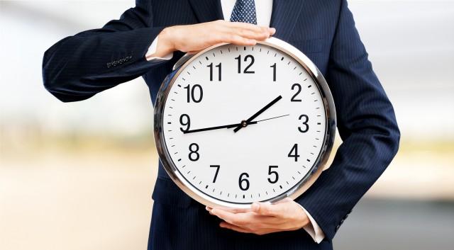 スーツと時計