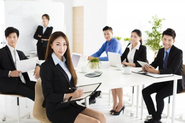 事業資金を借り入れる会社のイメージ